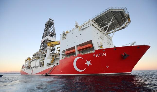Turkey's Fatih drill ship starts operations off NE Cyprus 1