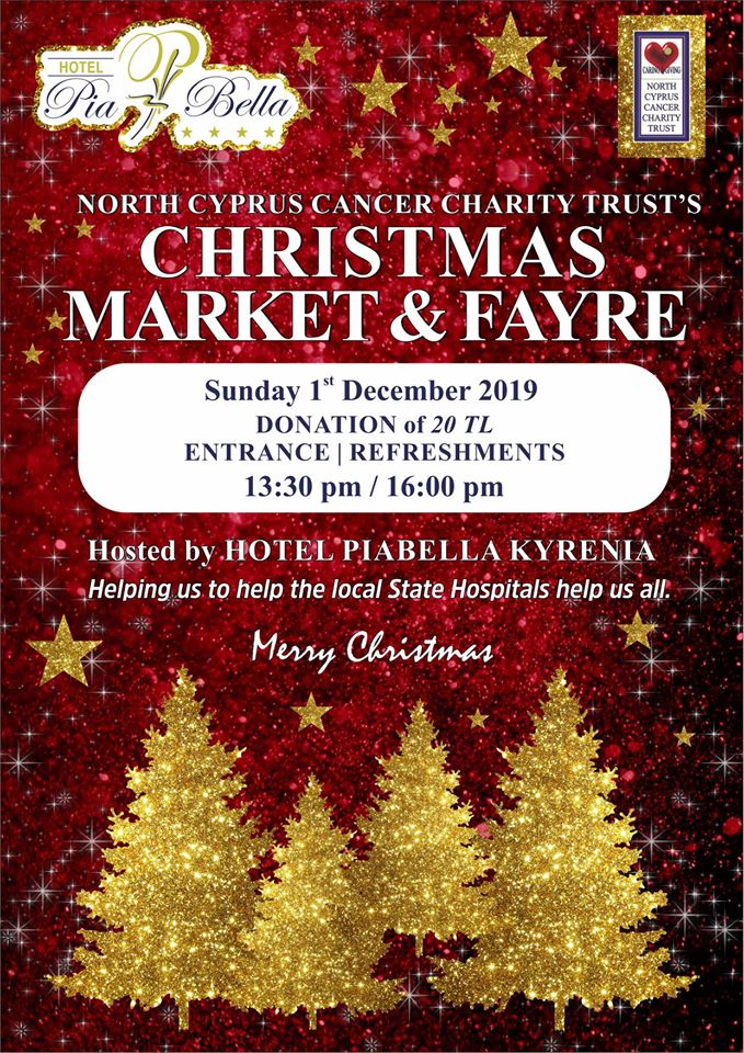 North Cyprus Cancer Charity Trust Christmas Market and Fayre 2019 13