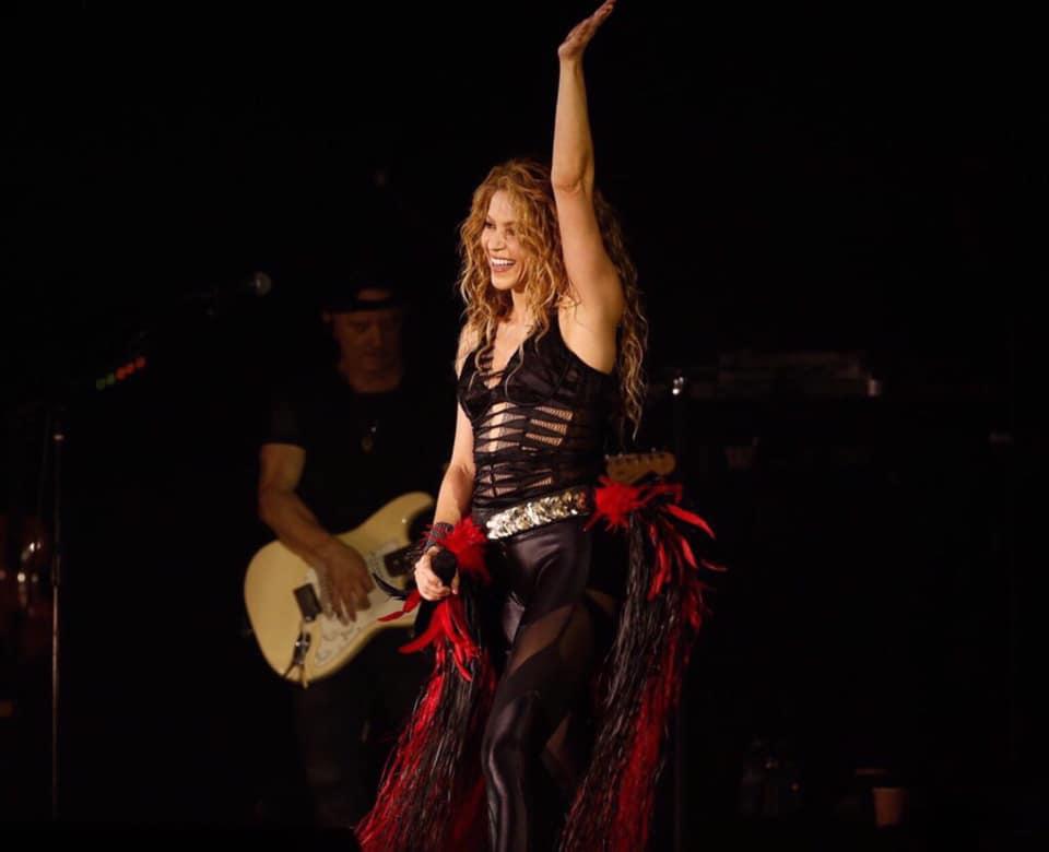 Shakira's The new El Dorado Live Concert Album 2