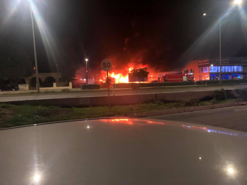 Explosions at Lidl Road Next to Petrol Station. Trucks exploding (Video) 1
