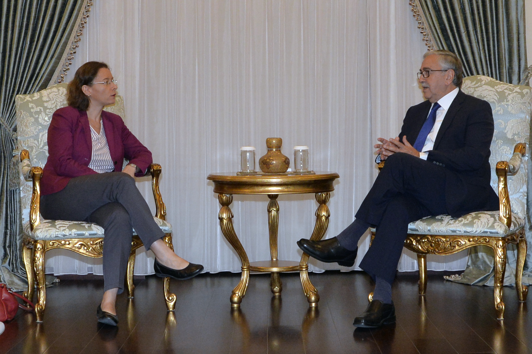 Akıncı received the new French Ambassador to Lefkoşa 9