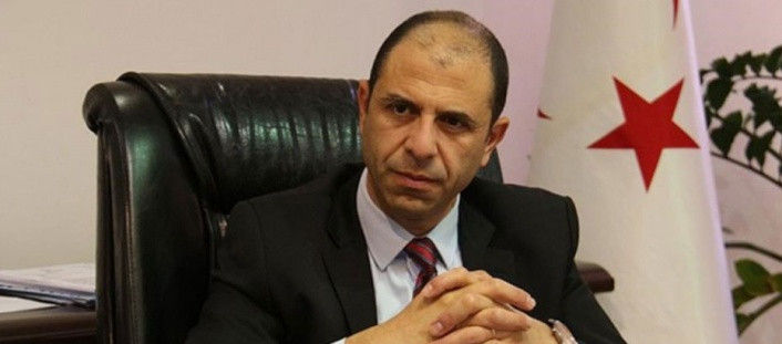 "Özersay: ""Those responsible for the burning of the TRNC flag have been identified"" 1"