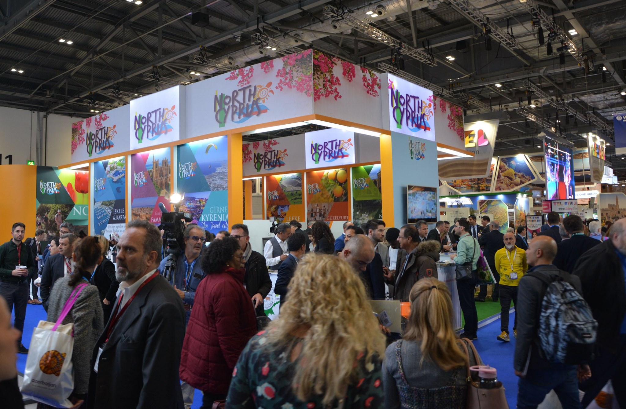 TRNC stand is centre of attraction at World Travel Market London 7