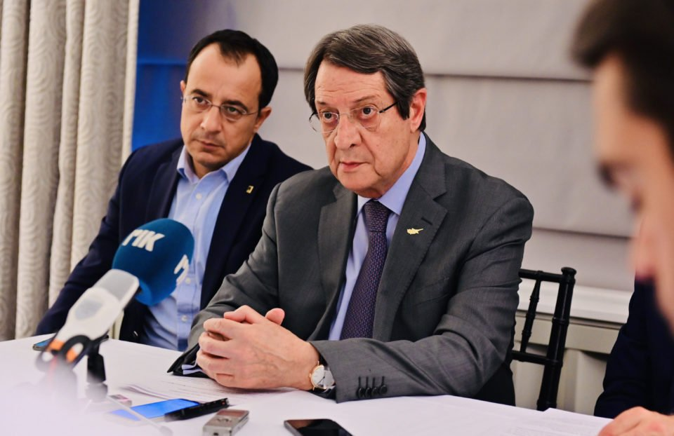 Anastasiades saddened over latest statements by Turkish FM 15