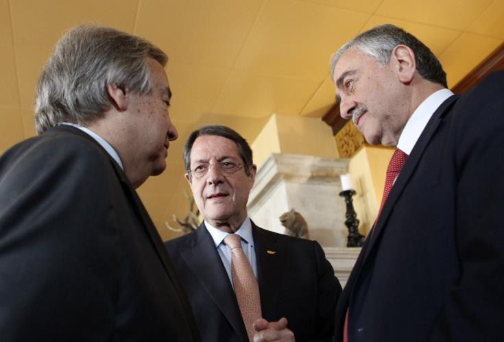 Greek Cypriot President travels to Berlin for meeting with UN chief, T/C President 1