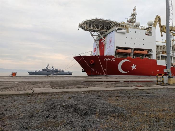"Turkish ""Yavuz"" continues drilling at block 7 1"