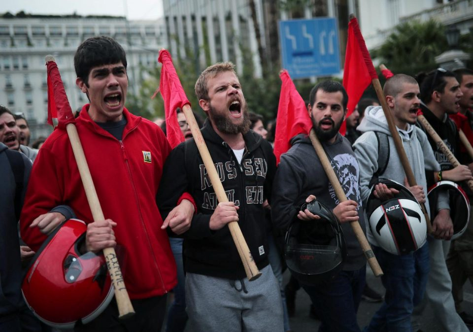 Greeks march to mark anniversary of 1973 student revolt 1