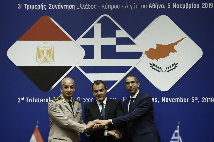 Greece and Egypt firmly support Cyprus 1