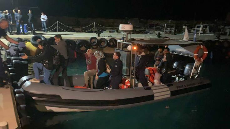 122 irregular migrants brought to shore at Protaras 1