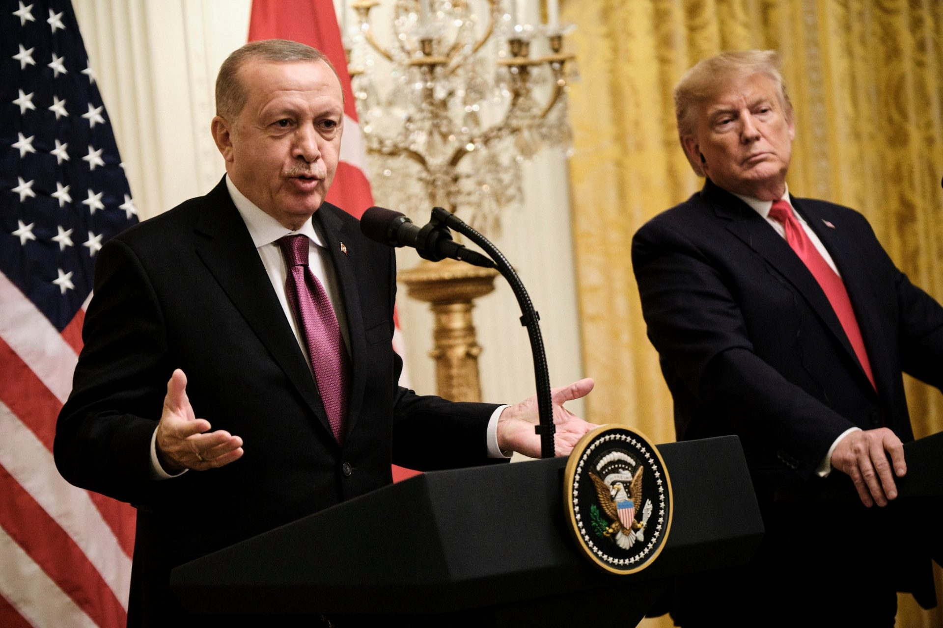 Behind the Scenes, Erdogan's Friendly White House Visit Had Tense Moments 10
