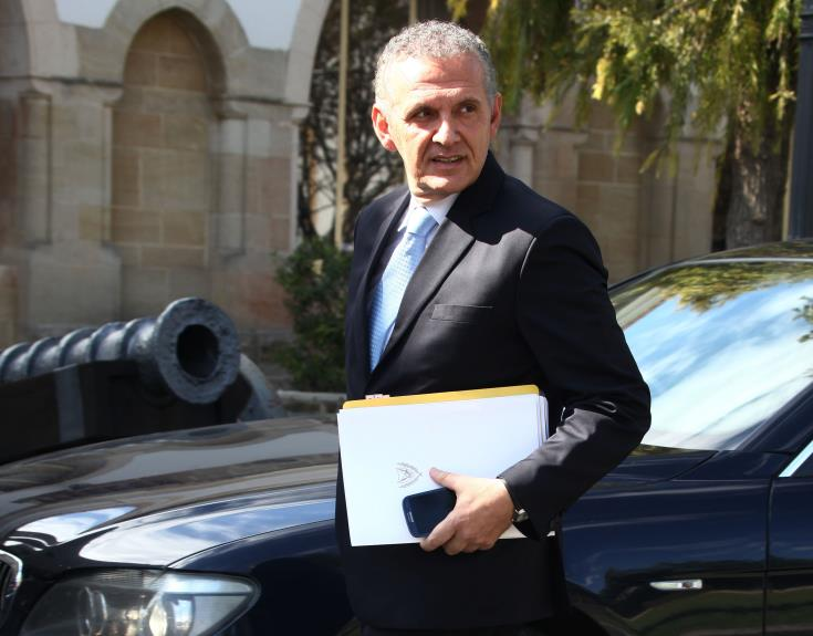 Photiou calls on Turkish side to respond to Anastasiades good will and determination for solution 1