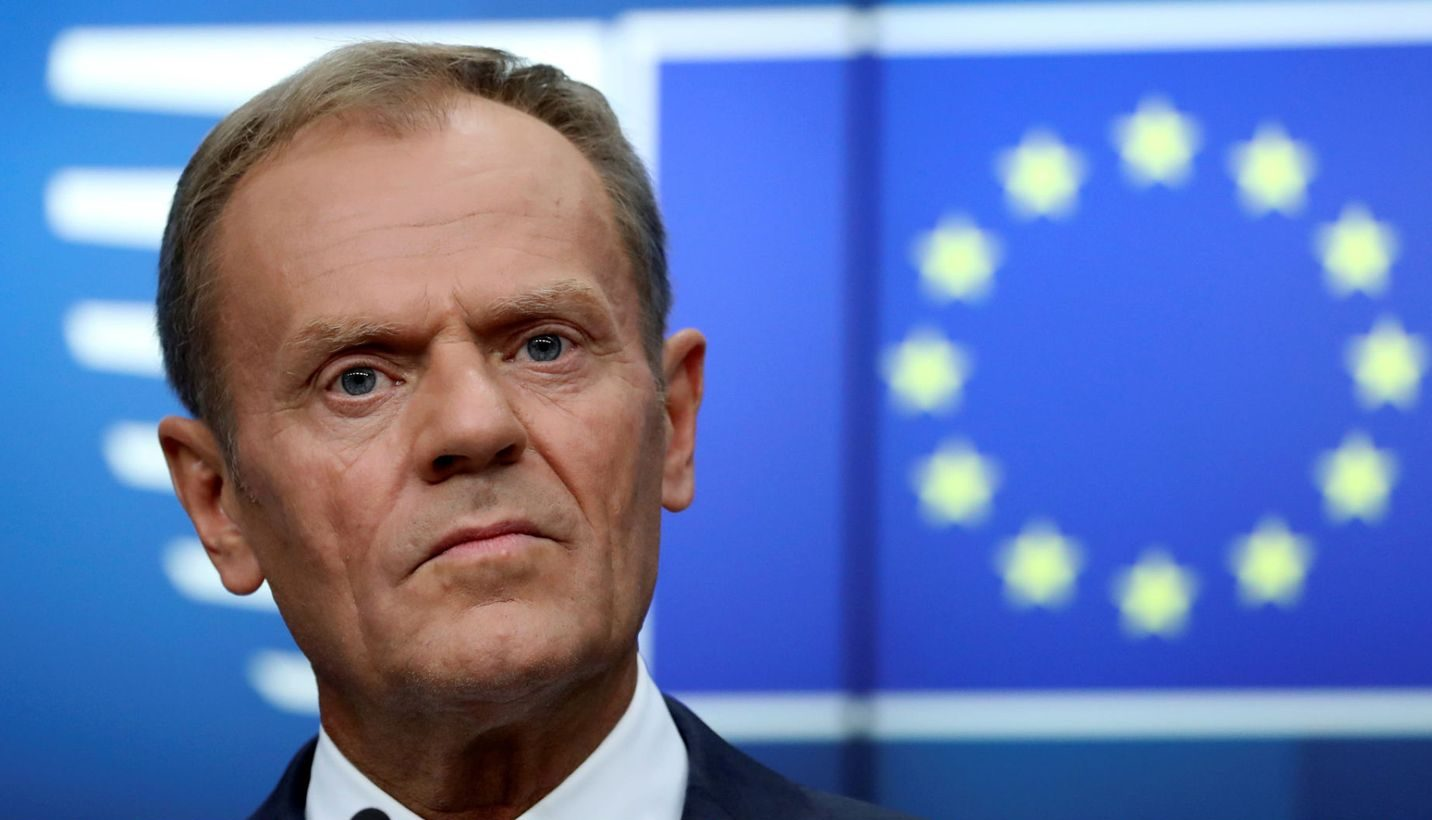 'Don't give up' on stopping Brexit, Donald Tusk tells campaigners 1