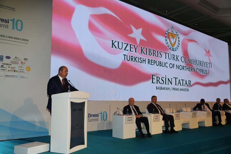"Tatar: ""Our rights are usurped in the Eastern Mediterranean"" 1"