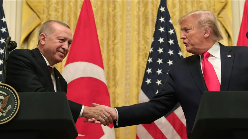 Trump says meeting with Erdogan 'very productive' 8
