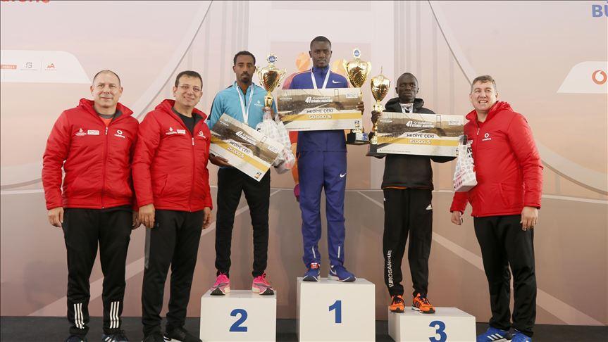 Kenyan, Ethiopian athletes win 41st Istanbul Marathon 1
