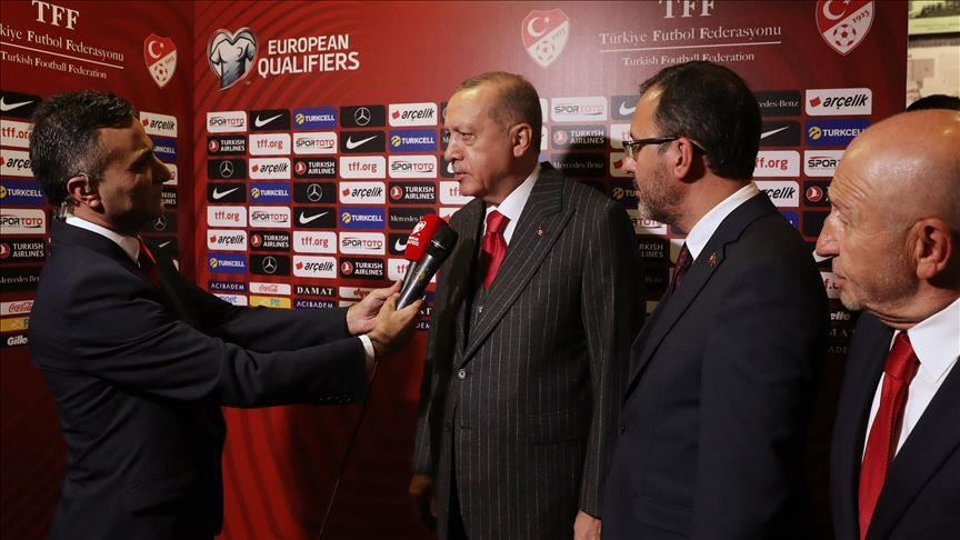 Erdogan congratulates Turkey on advancing to EURO 2020 3
