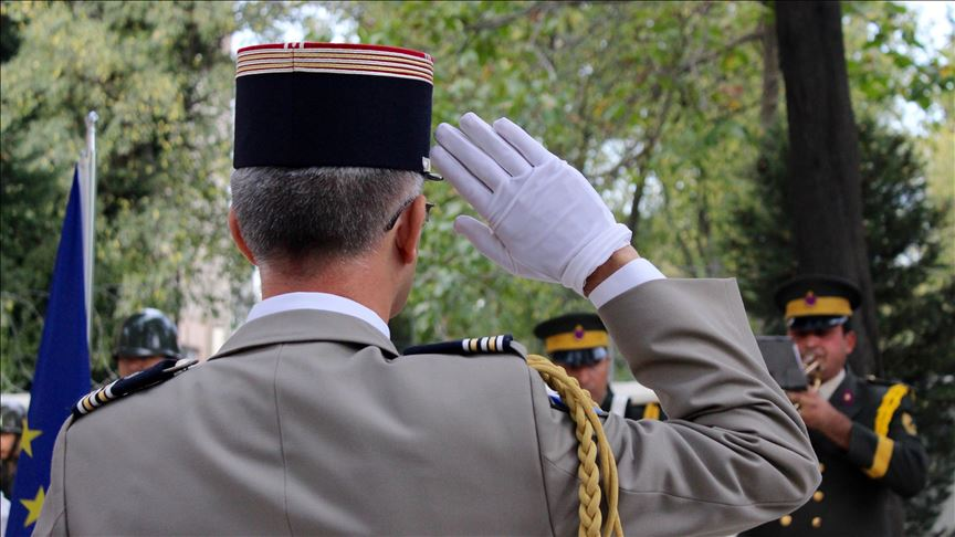 French army soldiers killed in WWI honored in Istanbul 6