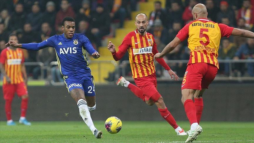 Fenerbahce stunned by underdogs Kayserispor 1