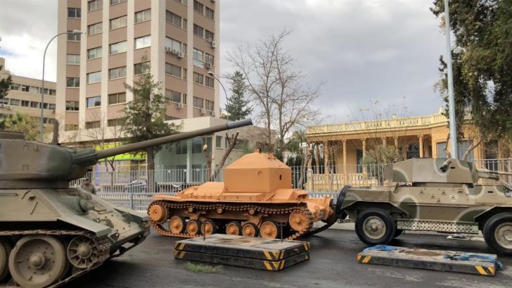 Dismantling of War Museum has begun 1