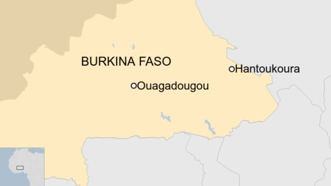 Burkina Faso: Attack on church kills at least 14 1