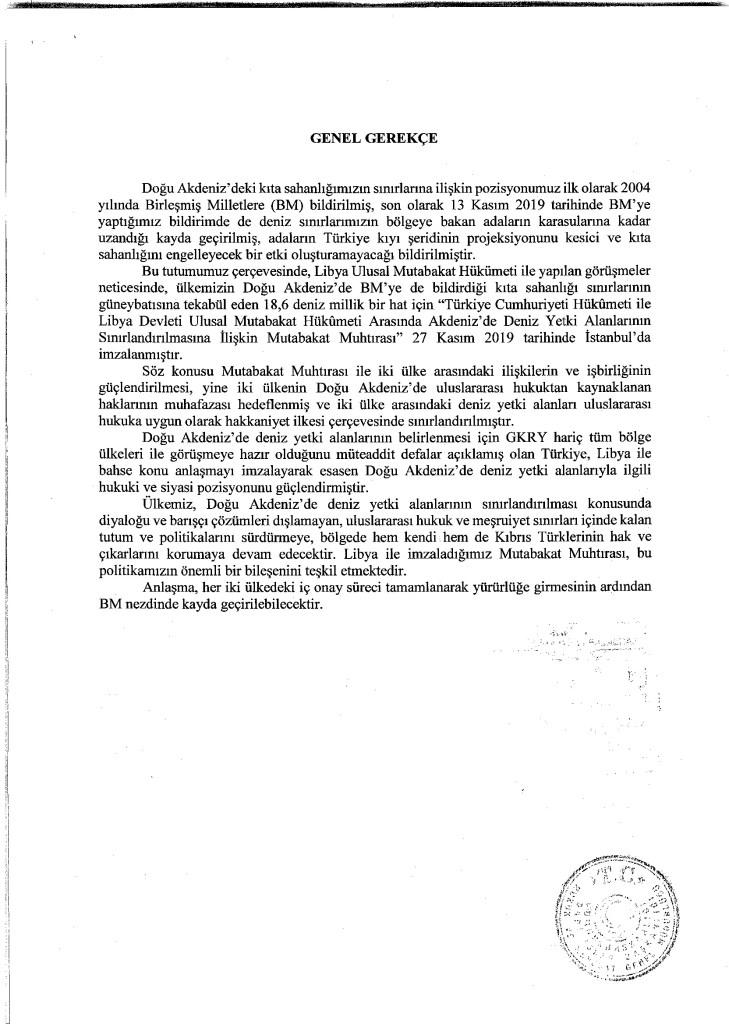 Full text of Turkey-Libya maritime agreement revealed 16