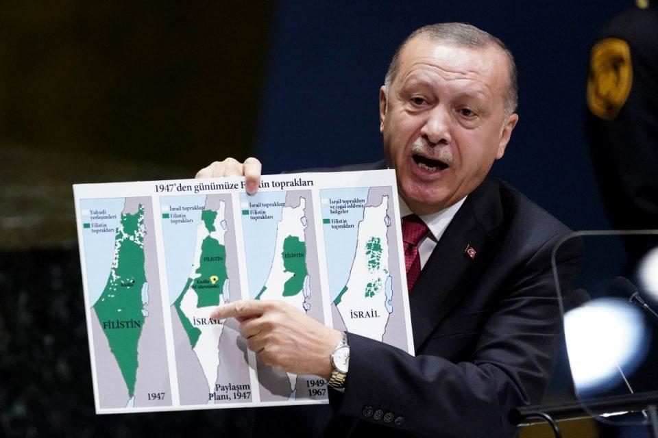 Recep Tayyip Erdoğan london walkabout (Video) 1