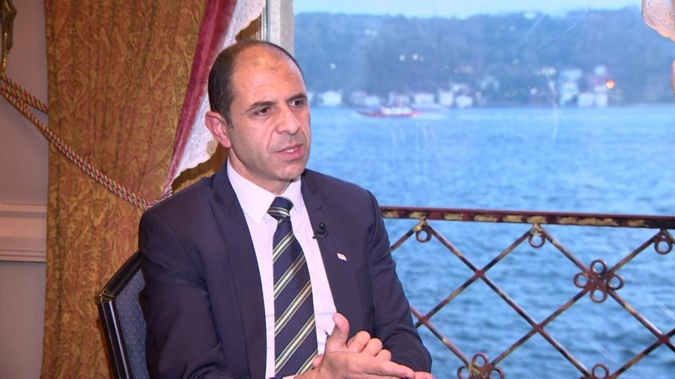 """Özersay: """"Our intention and expectations are very different than those of the Greek Cypriot side"""" 1"""