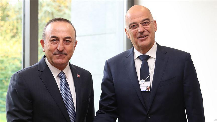 Mevlüt Çavuşoğlu - Nikos Dendias