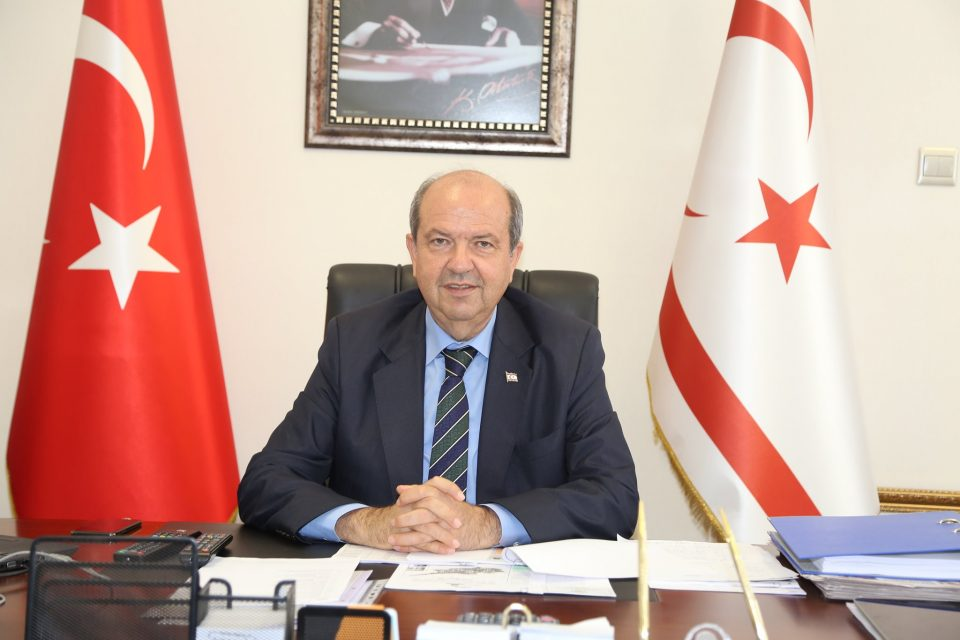 """Tatar: """"Greek Cypriot side escaping from reality is the most important obstacle restricting an agreement"""" 1"""