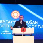 Turkish diplomat posts map with Ankara's view of continental shelf in the Eastern Mediterranean 7