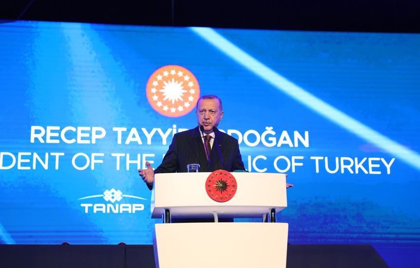 Erdoğan: 'Turkey would never allow anyone to violate the rights of Turkey and the interests of Turkish Republic of Northern Cyprus' 1
