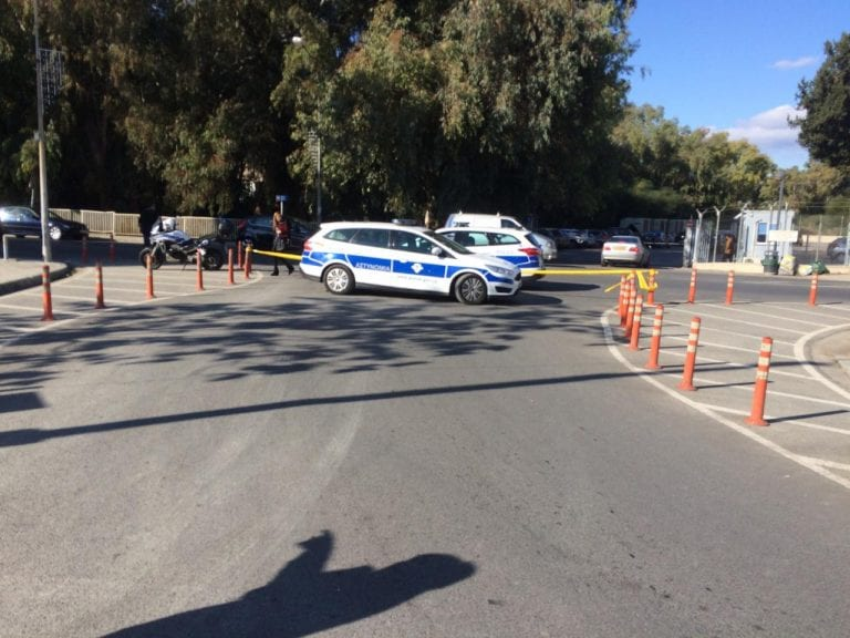 Bomb scare at American academy school in Nicosia, Cyprus. School evacuated 22