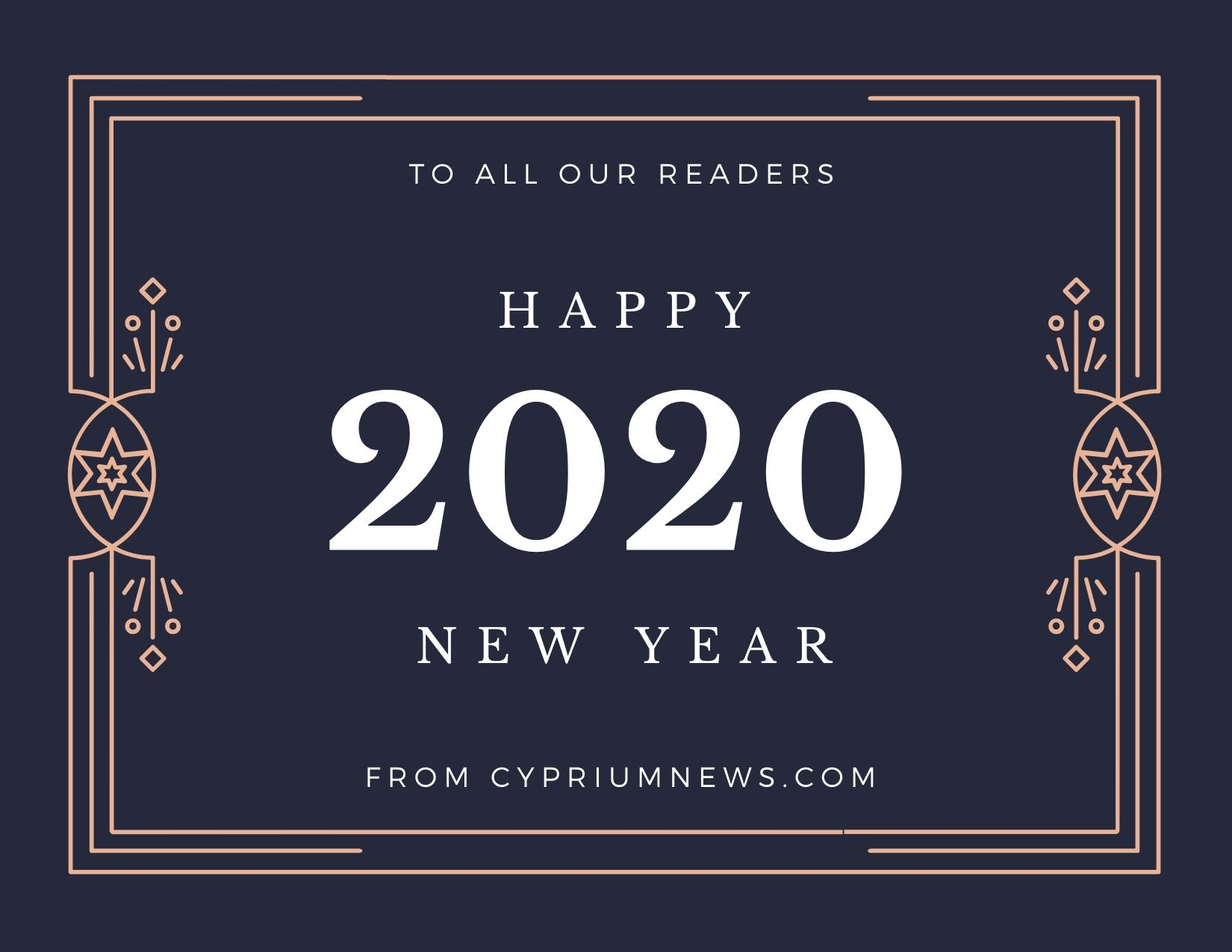 Happy New Year from Cypriumnews.com 2