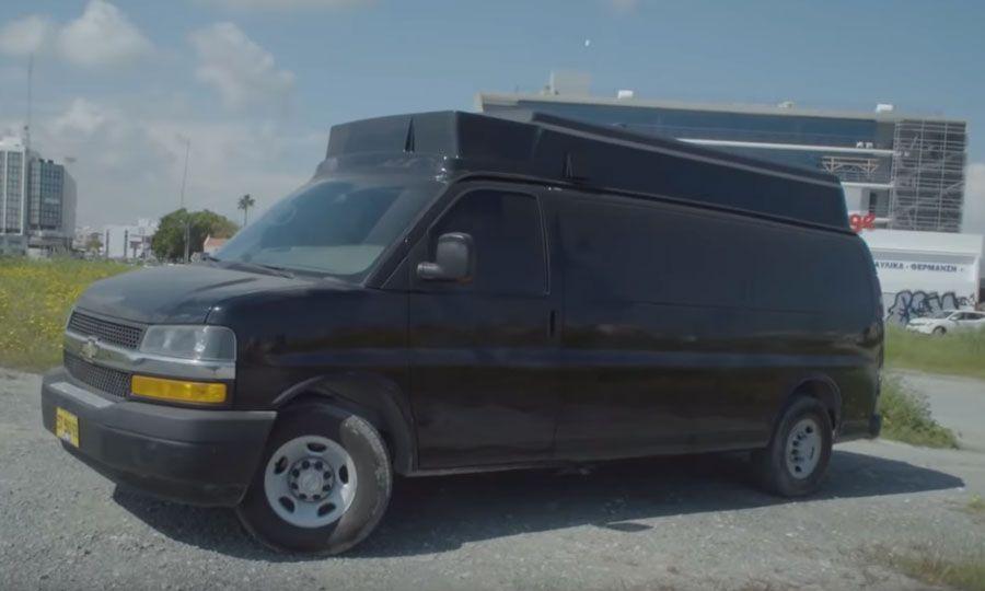 Spy van