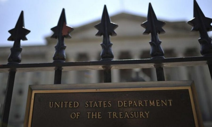 US Treasury Department.