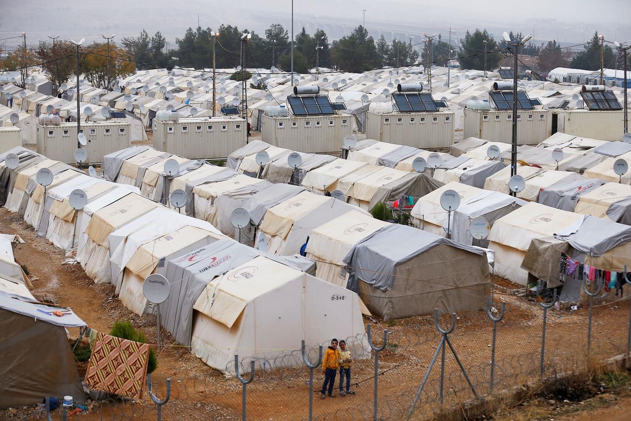 Syrian Refuge Camp