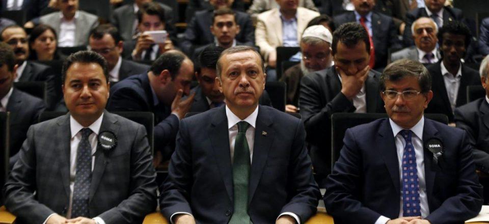 Erdogan. Babacan, Davutoğlu