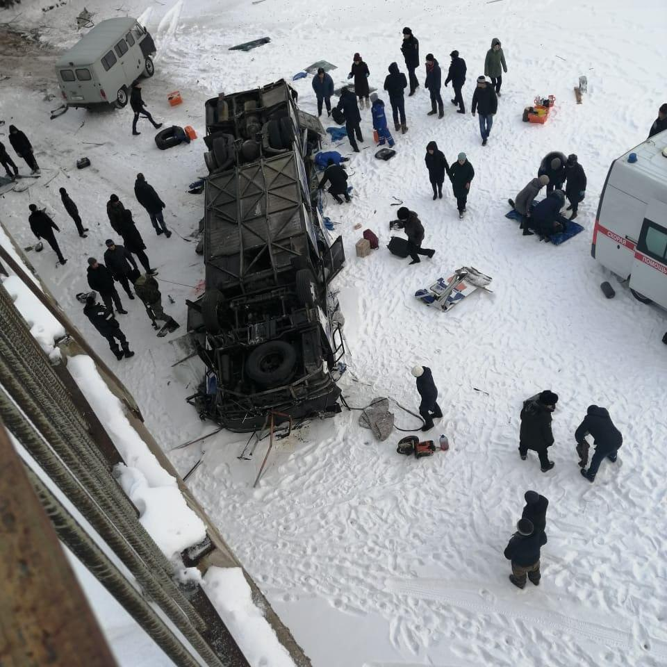 Nineteen people killed in bus crash in Russia's far east: local government 1