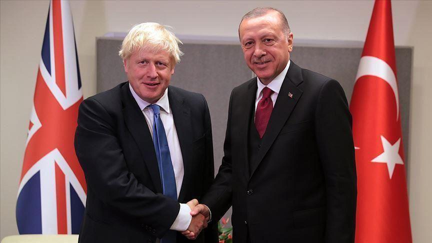 Recep Tayyip Erdogan, Boris Johnson