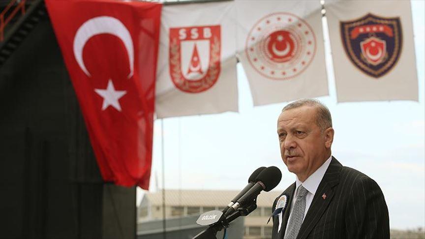 6 submarines to go into service in 2022-2027: Erdogan