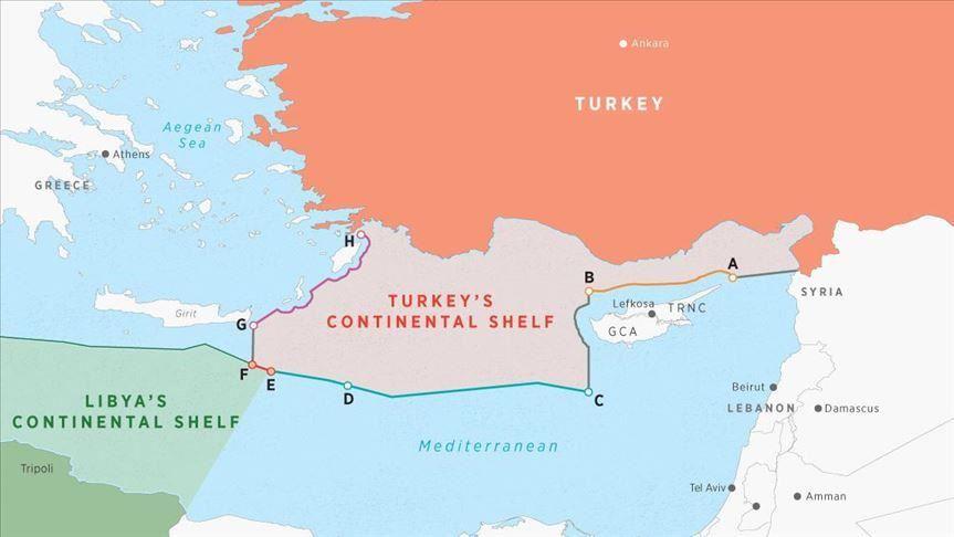 Libya - Turkey Maps