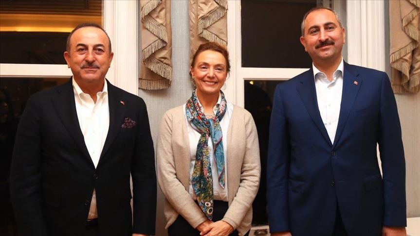 Top Turkish officials meet Council of Europe head 1