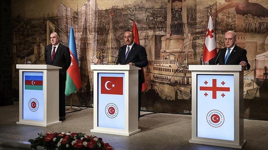 Ankara, Baku, Tbilisi