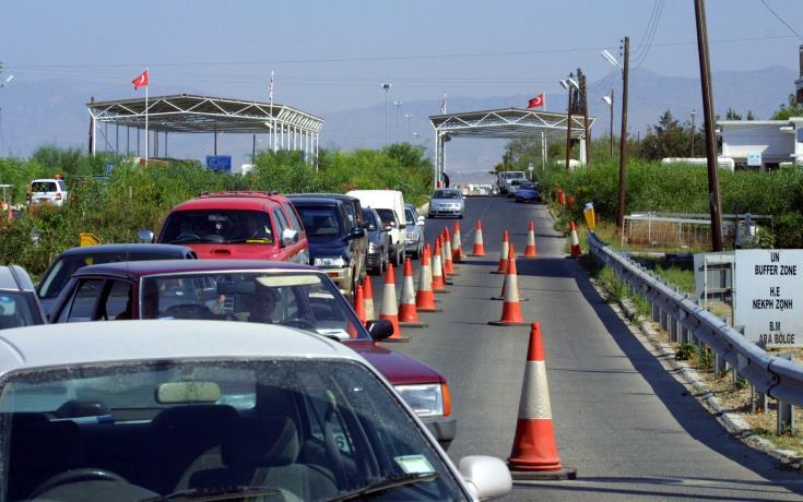 Metihan - ayios dhometios checkpoint
