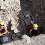 Archaeologists working on the Paphos Agora Project (PAP)