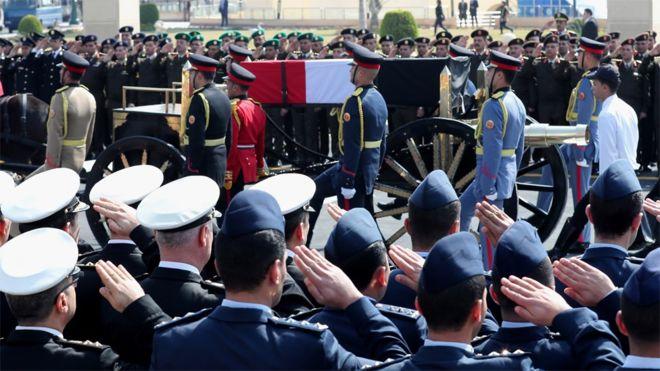 Hosni Mubarak Funeral