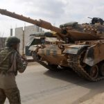 Turkish troops are backing rebel forces in north-western Syria