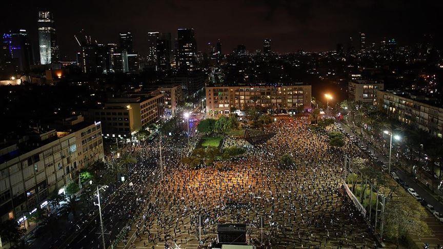 anti-Netanyahu protest