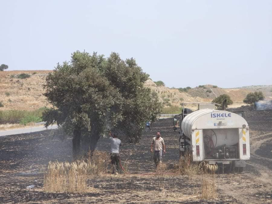 Fire between  Sınırüstü & Altınova Iskele (Video) (Update) 28