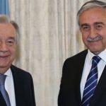 Antonio Guterres & Akıncı